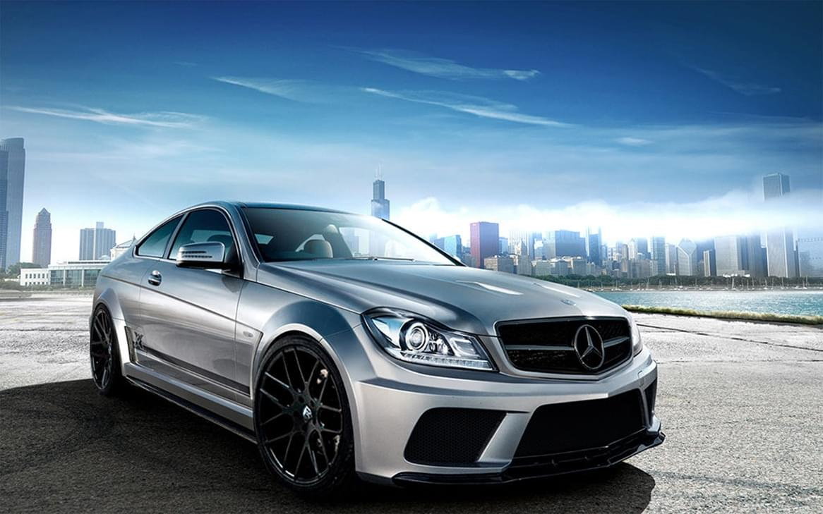 Wonderful images of mercedes amg c63 w204 black series for Mercedes benz amg kit